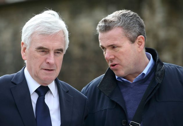 John McDonnell and Mark