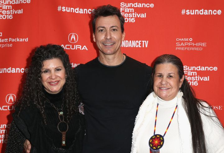 "Will Allen attends the Sundance premiere of ""Holy Hell"" with his sisters, Amy and Cristala."