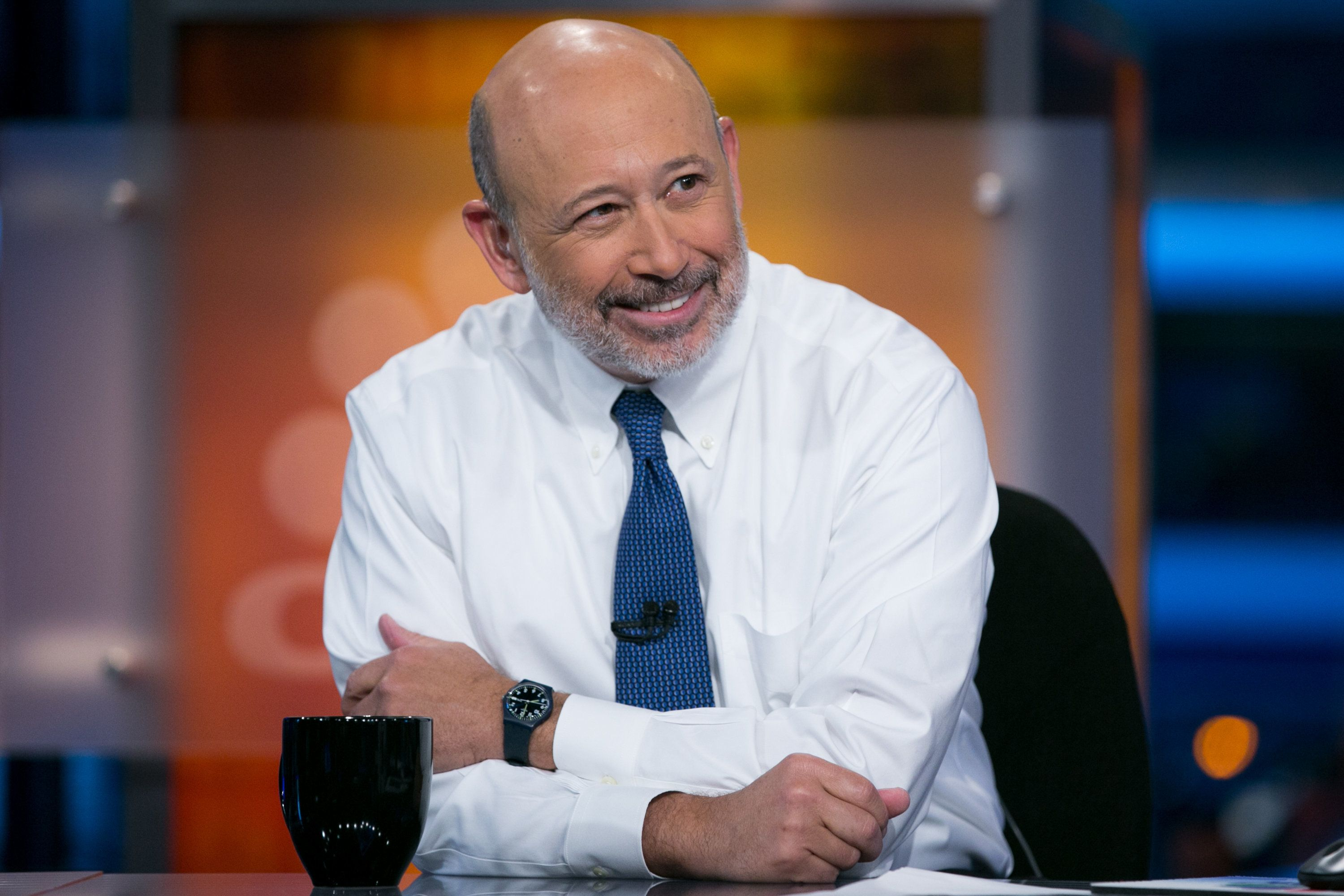 Lloyd Blankfein, CEO and Chairman of Goldman Sachs, on January 7, 2015.