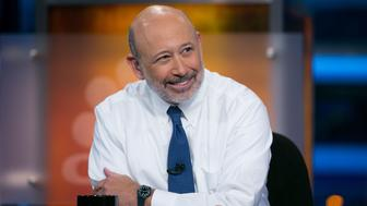 SQUAWK BOX -- Pictured: Lloyd Blankfein, CEO and Chairman of Goldman Sachs, on January 7, 2015 -- (Photo by: Adam Jeffery/CNBC/NBCU Photo Bank via Getty Images)