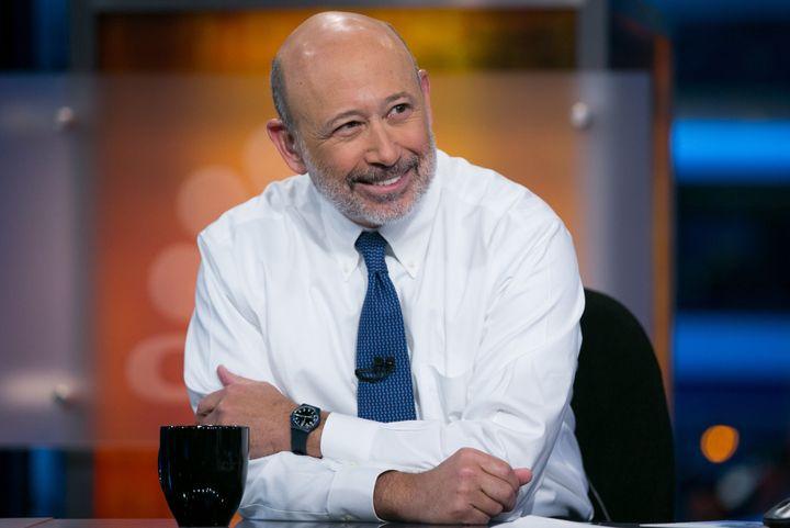 Lloyd Blankfein, CEO and Chairman of Goldman Sachs, on January 7, 2015.