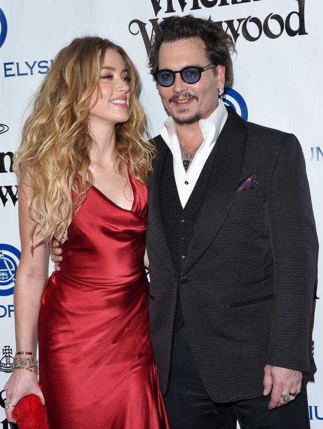 Amber Heard and Johnny