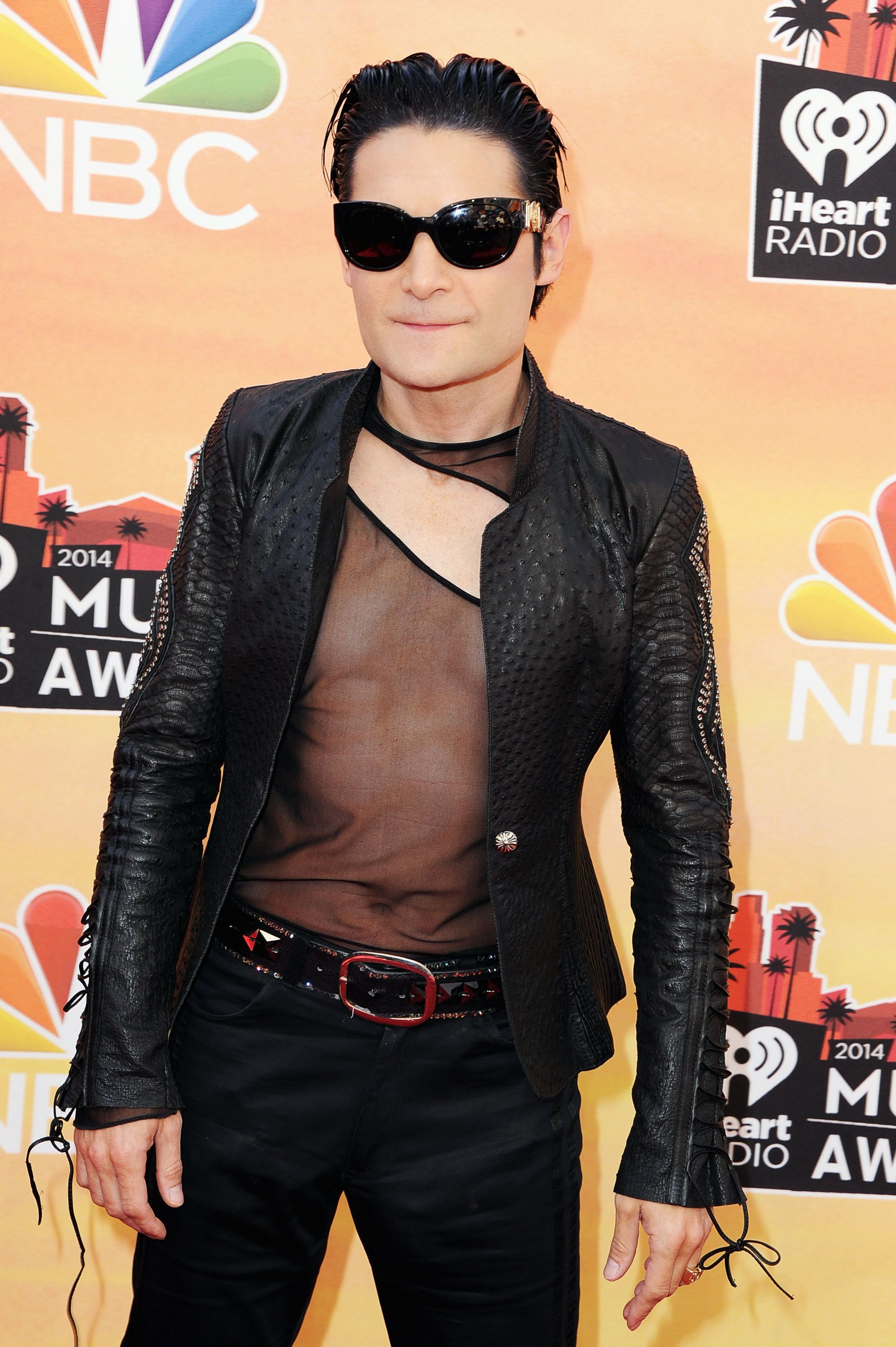 LOS ANGELES, CA - MAY 01:  Actor Corey Feldman attends the 2014 iHeartRadio Music Awards held at The Shrine Auditorium on May 1, 2014 in Los Angeles, California.  (Photo by Steve Granitz/WireImage)