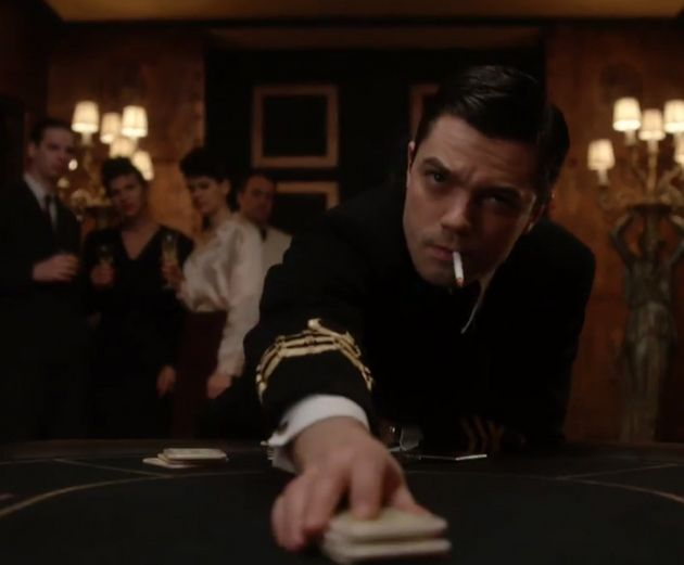 Dominic Cooper played Ian Fleming on
