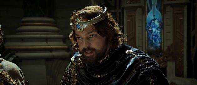 Dominic plays King Llane Wrynn in
