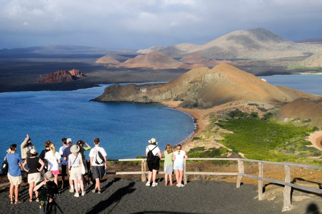 Areas like Ecuador'sGalapagos Islands, a World Heritage site, arealready under threat from...
