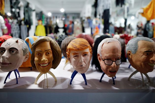 The factory produces thousands of rubber and plastic masks of everyone from Osama Bin Laden to