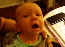 Baby Adorably Lets Out Sigh Of Relief After Sneezing