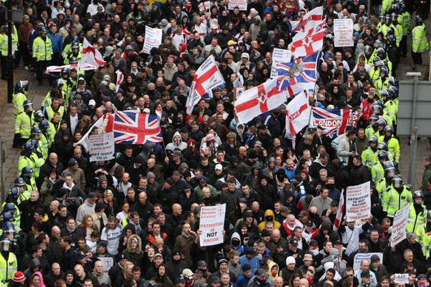 Image result for edl vs police