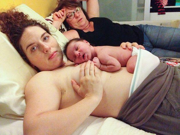 Pics nudist mom Patrick Mahomes'