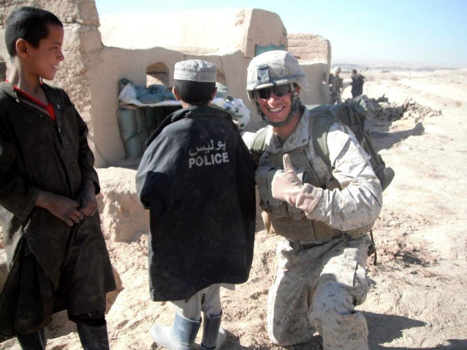 Ferreira in Afghanistan.