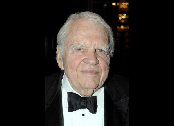 Andy Rooney is another personality that seems to have been around since the beginning of time, and we're all glad to have bee