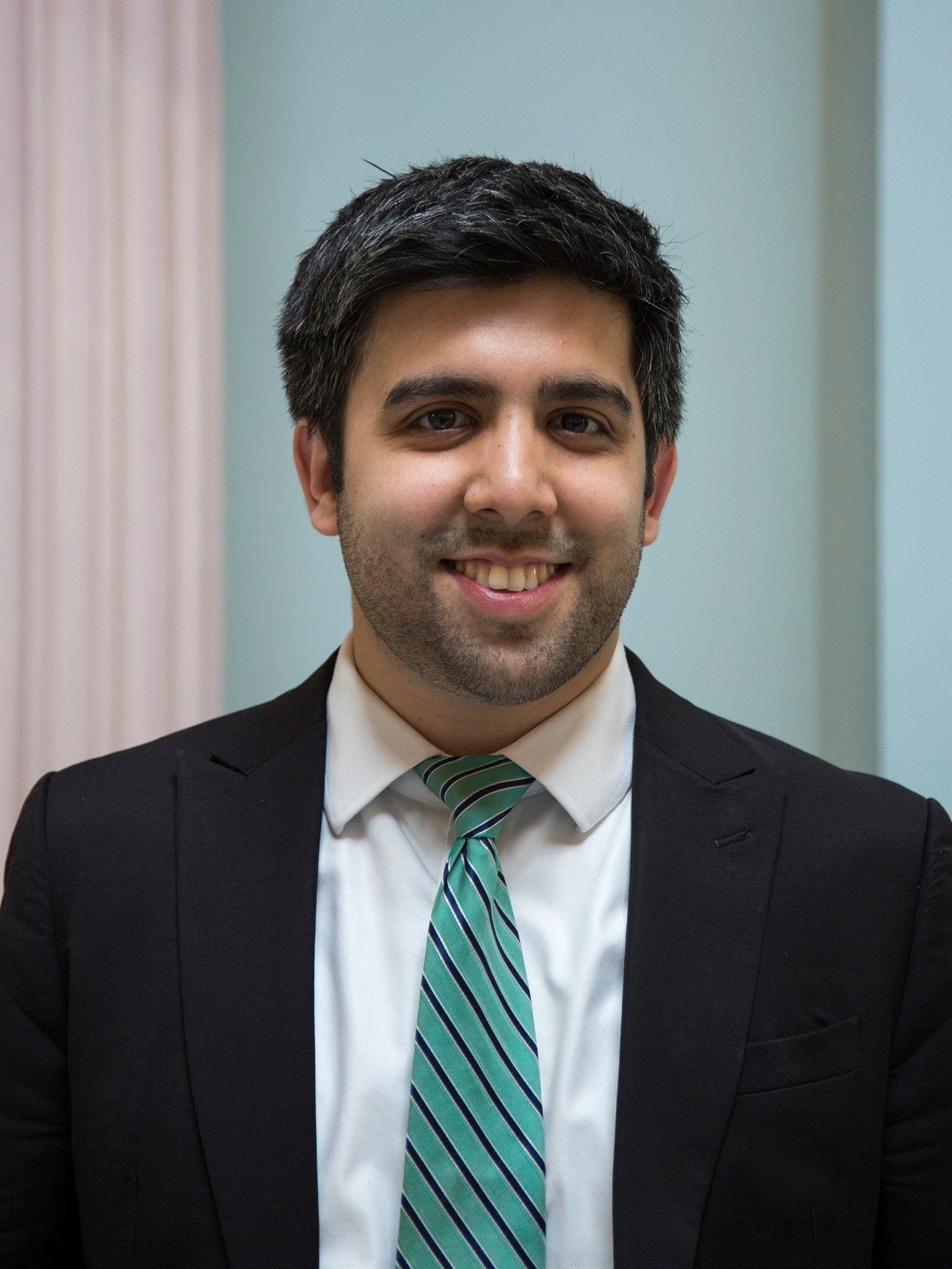 Zaki Barzinji, 27, recently began as liaison to the Muslim American community under the White House Office of Public Eng