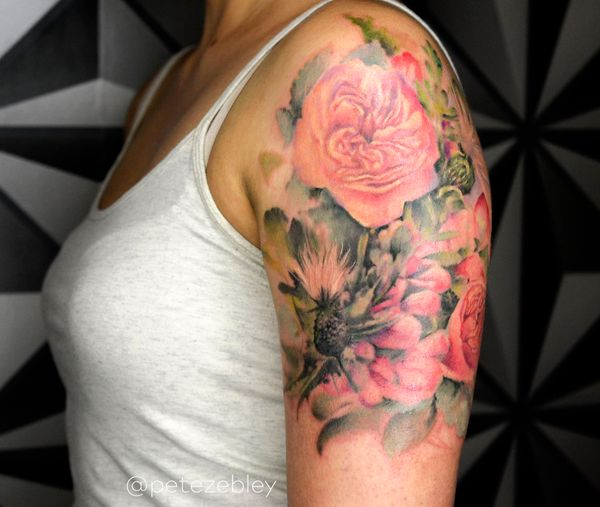 Floral Bouquet Back Tattoo: Bridal Bouquet Tattoos Are Now A Thing And They Look