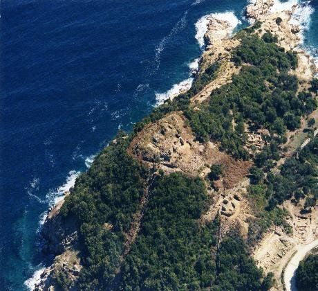 Archaeologist Kostas Sismanidis believes that Aristotle's remains are somewhere here, in the ancient Greek seaside city