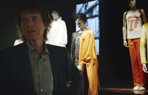 Still rocking... Mick reflects on his own distinctive