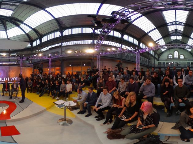 The BBC's youth EU debate was held in Glasgow on Thursday