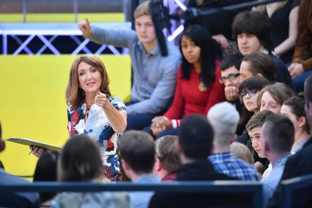 BBC presenter Victoria Derbyshire asked the audience if they believed the dire economic