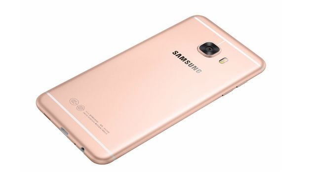 Samsung's new C5 phone is strikingly similar to recent iterations of the iPhone, illustrating Apple's...