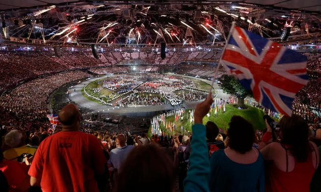 The London Olympics opening