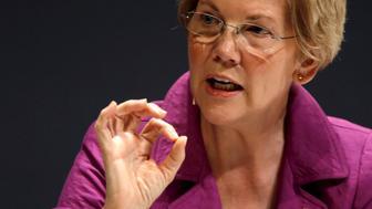 U.S. Senator Elizabeth Warren (D-MA) takes part in the Washington Ideas Forum in Washington, October 1, 2015.  REUTERS/Jonathan Ernst