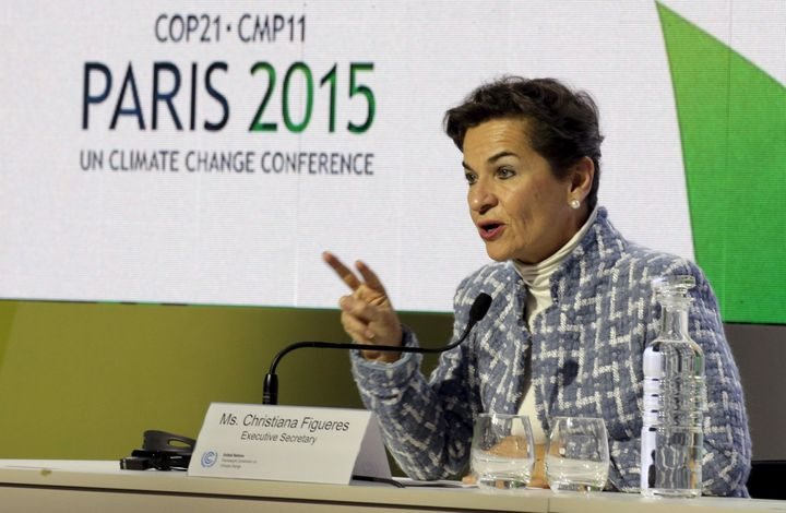 Christiana Figueres, chair of the UNFCC, said she doubted Trump would be able to renegotiate the climate deal.