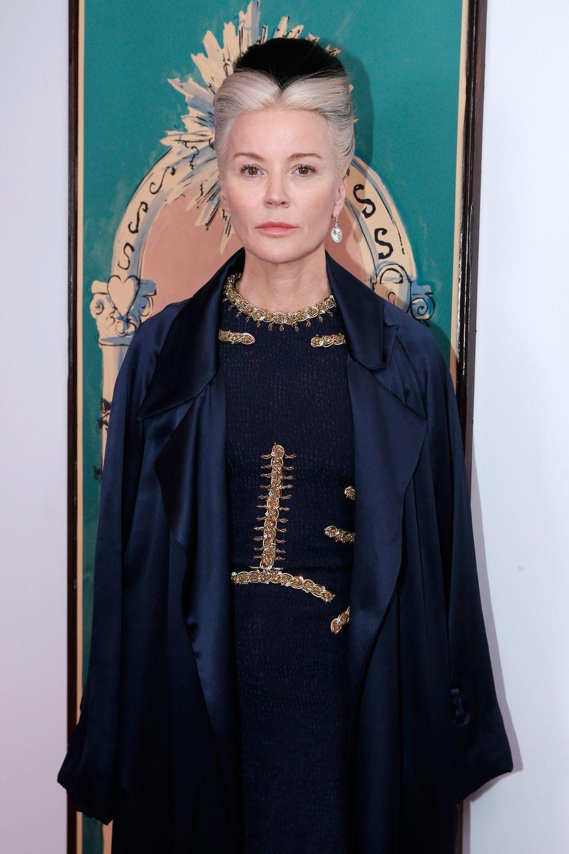 PARIS, FRANCE - JULY 06:  Artist Daphne Guinness attends the Schiaparelli show as part of Paris Fashion Week Haute Couture Fa