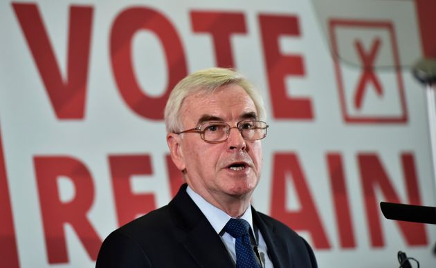 John McDonnell said migrants had 'kept our economy