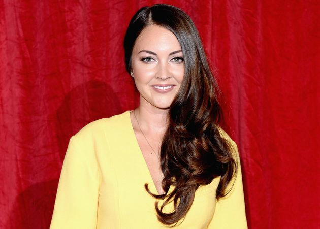 Lacey Turner at the British Soap