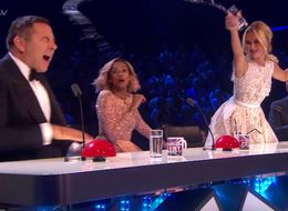 David Walliams Gets A Tough Lesson In Why You Don't Cross Amanda Holden