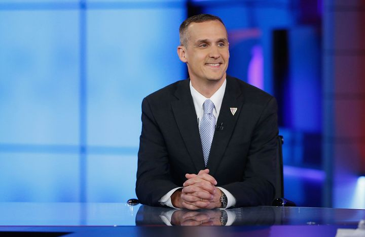 Donald Trump's campaign manager Corey Lewandowski insists his boss is leading in the polls with women and Latino voters.