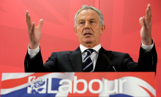 Tony Blair said that he would still tell people to vote for Labour, despite criticising Jeremy Corbyn...