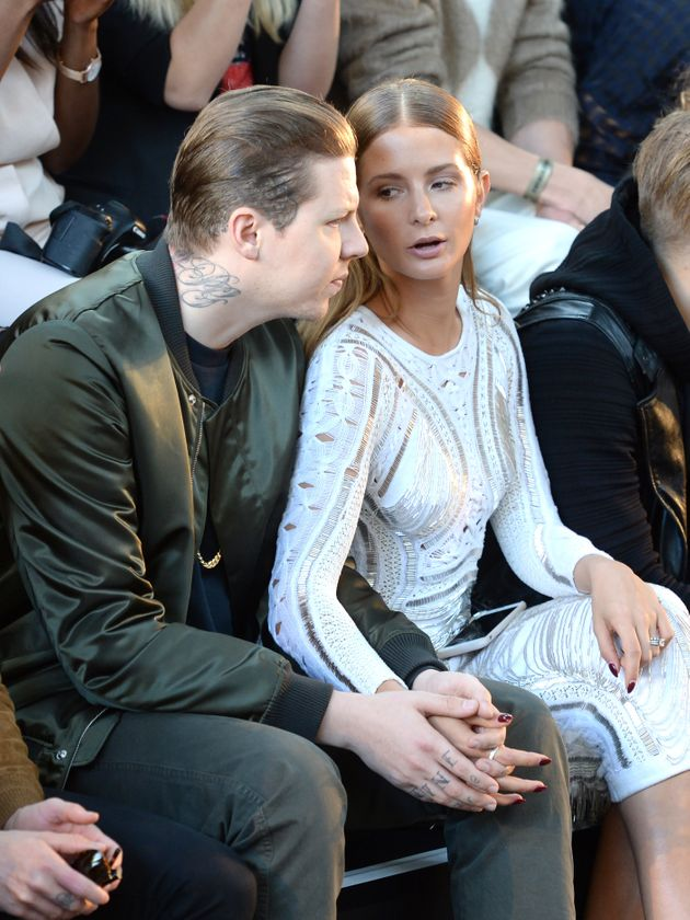 Professor Green and Millie Mackintosh last