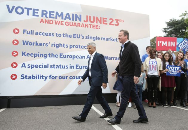 The pledges unveiled by Cameron and Khan