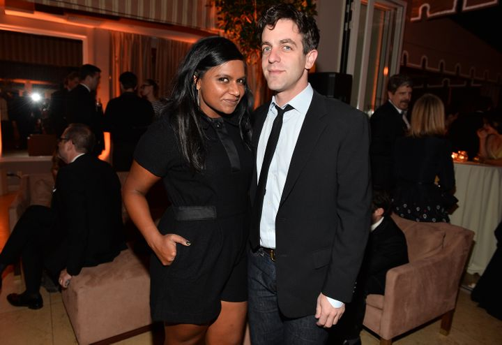 Mindy Kaling and B.J. Novak.