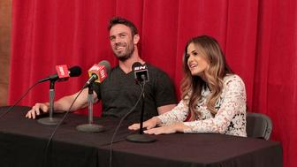 "THE BACHELORETTE - ""Episode 1202"" - Twenty anxious men look to get their love story with JoJo off to a good start. The the first group date give ten lucky bachelors a chance to see sparks fly when they head for a firefighting training facility, where one of the guys might need saving himself. JoJo and Derek get to pick their own adventure, and they choose a romantic picnic by the Golden Gate Bridge in San Francisco. Six bachelors get a dream date to ESPN's popular ""SportsNation"" with hosts Max Kellerman and Marcellus Wiley. They are sure they will be able to help JoJo find a perfect match, but Chad seems determined to ""shock and awe"" all the way up to the rose ceremony, on ""The Bachelorette,"" MONDAY, MAY 30 (8:00-10:01 p.m. EDT), on the ABC Television Network. (ABC/Rick Rowell)