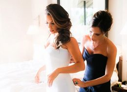 Victoria Beckham Dresses Eva Longoria In Stunning Unseen Wedding Photos