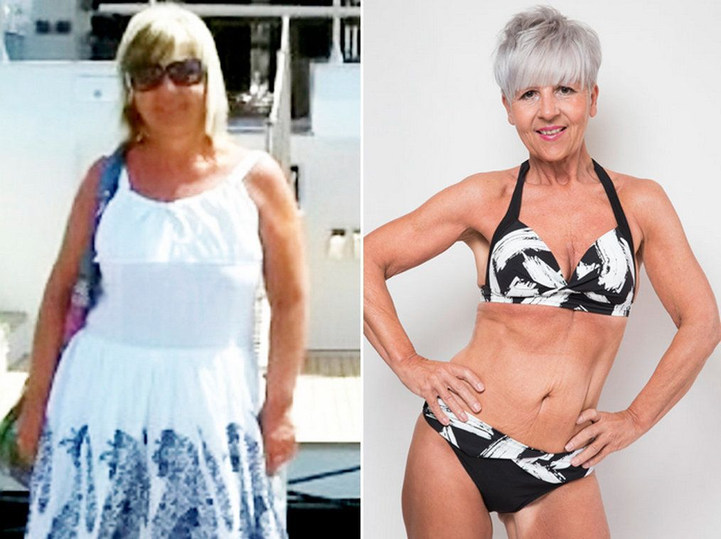 Weightlifting Grandma Loses 3 Stone In 8 Months To Become Kick-Ass Bikini
