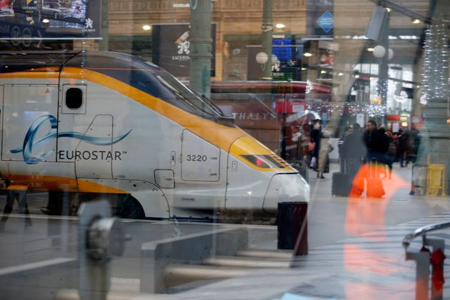 Two Eurostar trains from Paris Gare du Nord station were cancelled Monday night after a passenger tried...