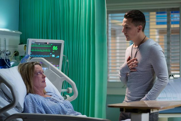 Steven tries to convince Jane to stay with