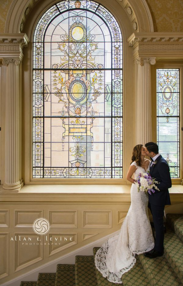"""Alison Lum and Justin Wolfe were married this past Saturday at Sleepy Hollow Country Club."" -- <i>Vicki Brown-Levine</i><u><"