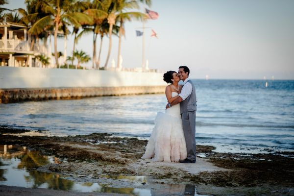 """Congrats to Laurie and Tony, who got married this Memorial Day weekend in Key West, Florida."" -- <i>Christophe Z.</i>"