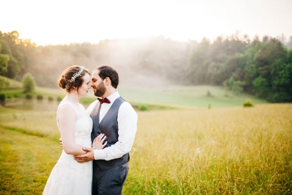 """Jaron and Makayla were married on Friday at Country Manor Acres in beautiful Townsend, Tennessee."" -- <i>Alexandra Quin"