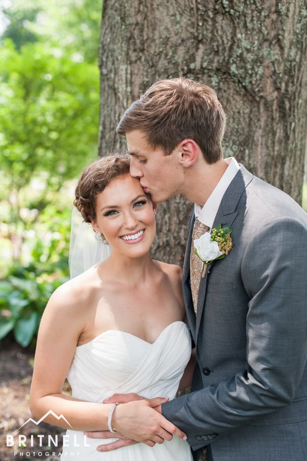 """Alex and Tess had a stunning outdoor wedding at the UT Gardens in Knoxville, Tennessee."" -- <i>David Britnell</i>"