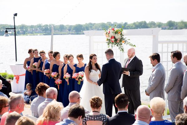 """Jason and Liz had their ceremony and reception at Boatwerks on Lake Macatawa in Holland, Michigan."" -- <i>Neringa ""Neri"