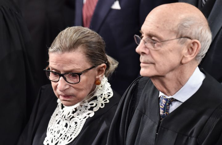 Ruth Bader Ginsburg and Stephen Breyer: Alone in their quest to find out if the death penalty in America can end.