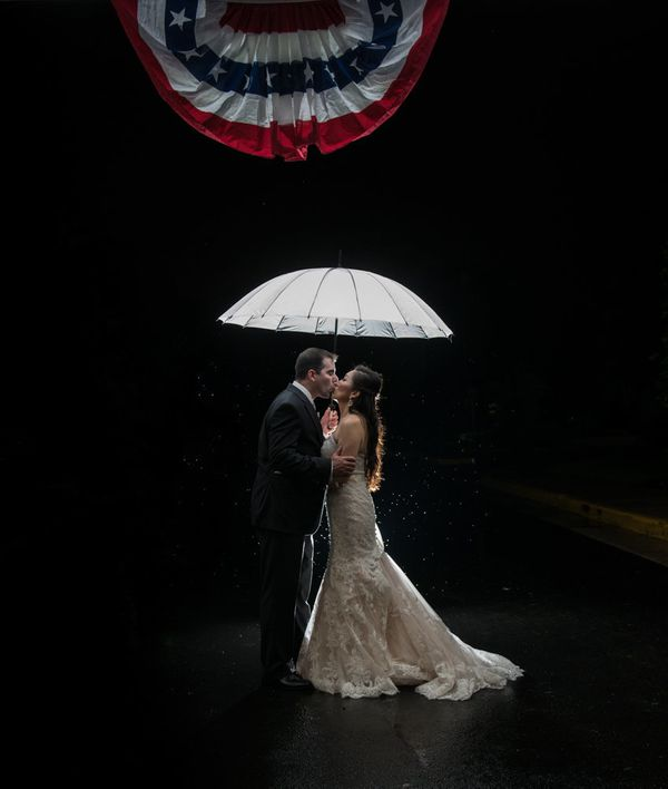 "<br>""Christine and Brian tied the knot in the rain this weekend at Mt. Vernon Country Club proving that Virginia really is fo"