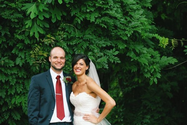 """Sydney and Nick married at Homewood in Asheville, NC."" -- <i>Leah Moyers</i>"