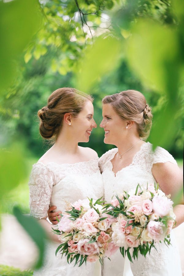 """Ashley and Hannah married in Knoxville, Tennessee Friday evening."" -- <i>Leah Moyers</i>"
