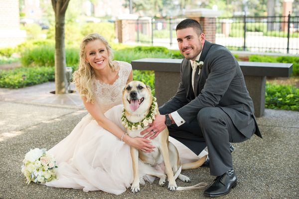 """Megan and Caleb were wed in Morgantown, West Virginia at their alma mater West Virginia University. They included their ador"